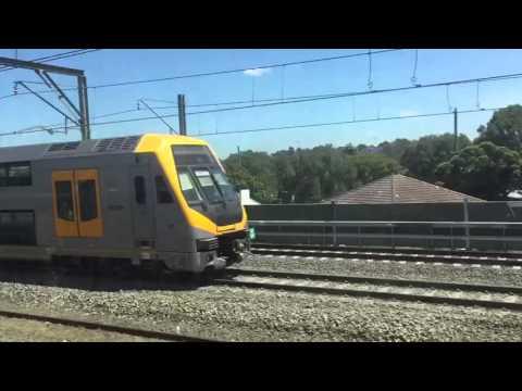 Train Ride: Wolli Creek To Glenfield (NSW)