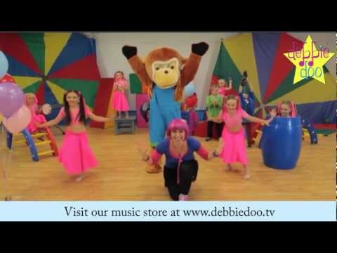 Debbie Doo & Friends - The Freeze - Dance Song For Children