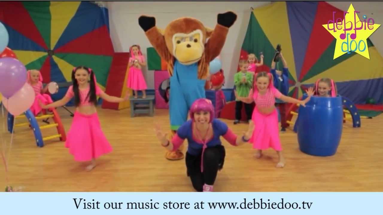 Debbie Doo & Friends - The Freeze - Dance Song For Children