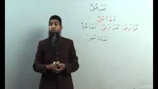 Arabi Grammmar Lecture _58 Part _02 عربی  گرامر کلاسس