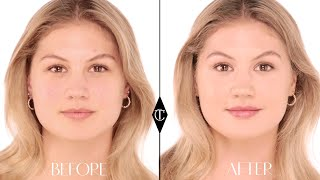 How to cover up Redness: Charlotte Tilbury Magic Foundation Makeup Tutorials