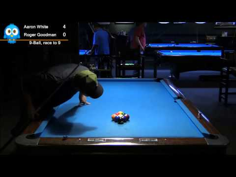 9-Ball Aaron White vs. Roger Goodman