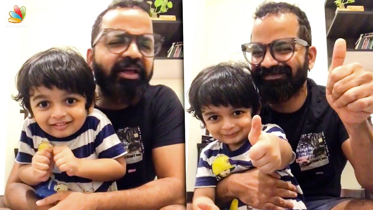 ഞാൻ ക്ലേ ഒന്നും തിന്നൂല്ല : Vinay Forrt Son Cute Video Viral    Vihaan's story session