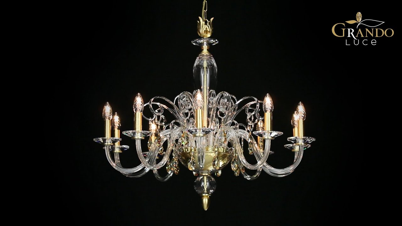 contessa collection classic crystal chandeliers youtube