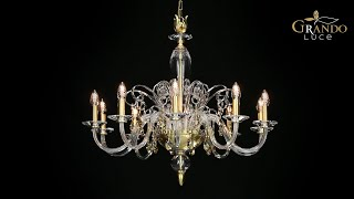 Contessa Collection Classic Crystal Chandeliers - GrandoLuce Video