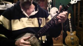 OVER THE WATERFALL, Clawhammer Banjo