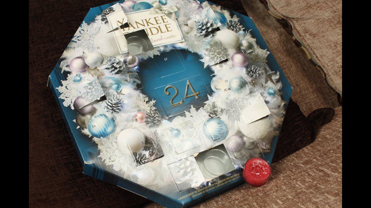 yankee candle adventni kalendar Yankee Candle Wreath Advent Calendar   Day 8   YouTube yankee candle adventni kalendar