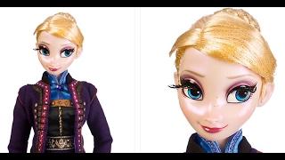 Disney Limited Edition Frozen Elsa 17 Doll Review/ Обзор Коллекционной куклы Эльза - Холодное Сердце