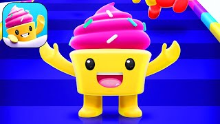 Cupcake Crew: Yum Run - All Levels Gameplay Android iOS (Levels 1-8)