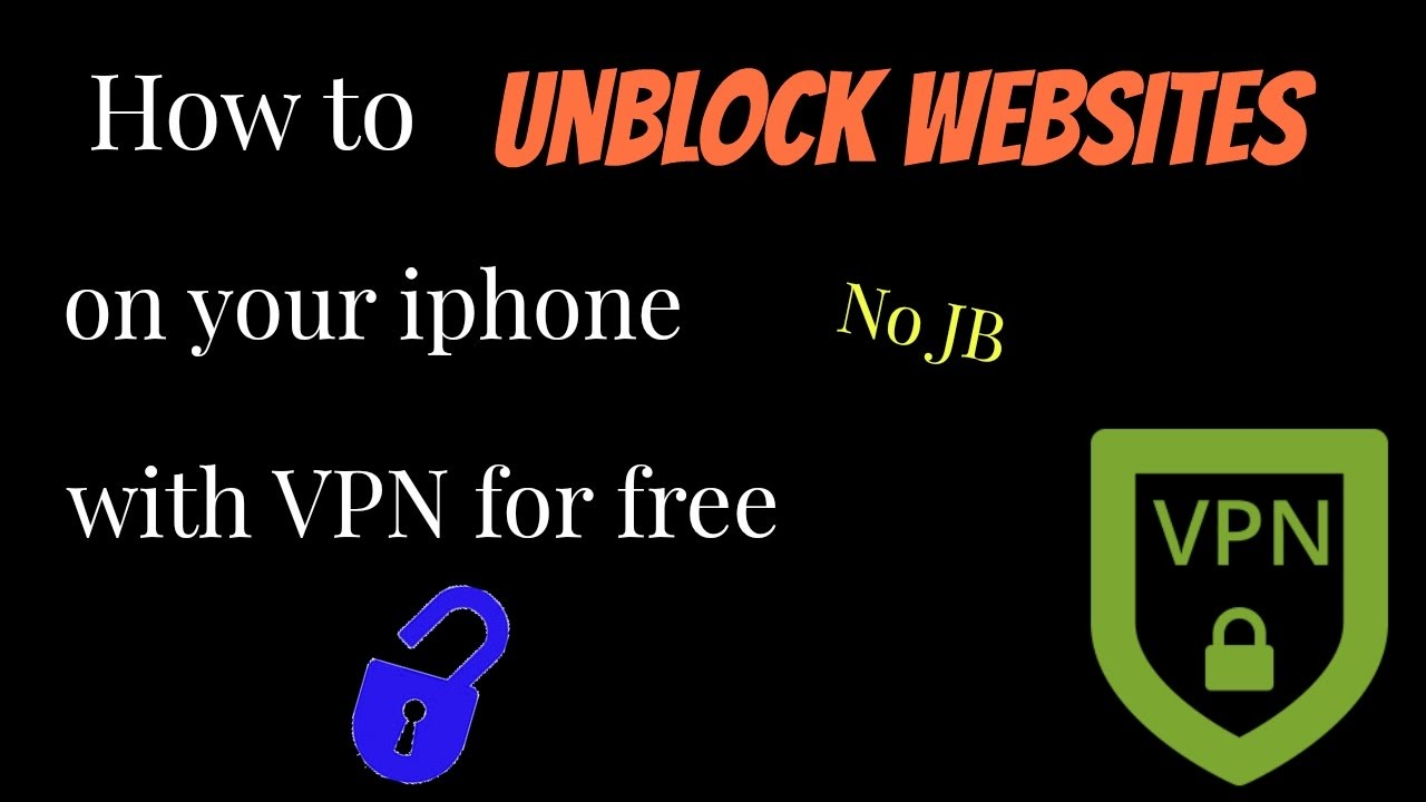 how to get a vpn on your iphone for no jb how to get a vpn on your iphone for 2017 no jb