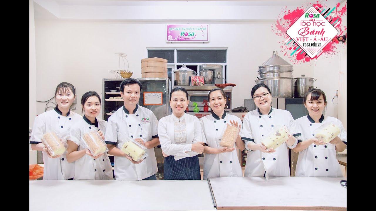 Lớp học Chuyên đề Bánh Bông Lan Cuốn (phương pháp Sp)