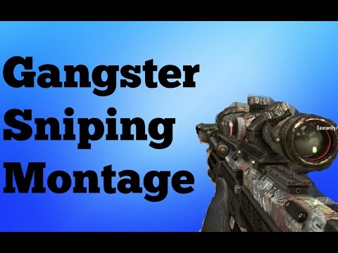 Insane Sniping Montage: Call of Duty- Black Ops 2