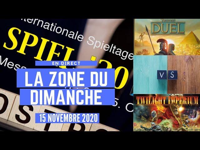 LA ZONE DU DIMANCHE - Retour sur ESSEN 2020 et le championnat de la semaine !