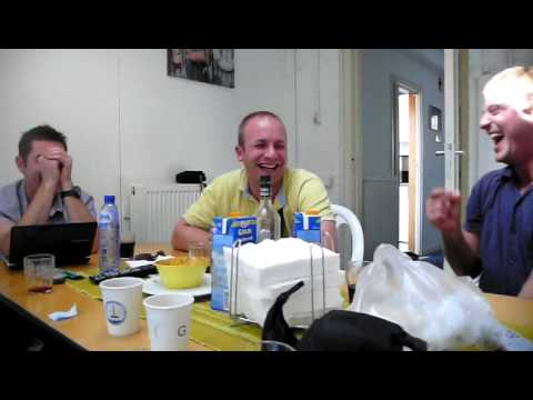 reaction of Lithuanian offshore guys on 2girls1cup video