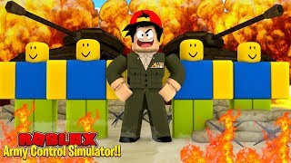 ROBLOX - GENERAL ROPO HAS A ROBLOX NOOB ARMY!!