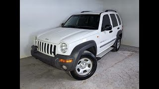 (SOLD) Turbo Diesel Manual 4×4 Jeep Cherokee Sport 2002 Review