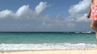 Багамы, Нассау купание в Атлантическом океане