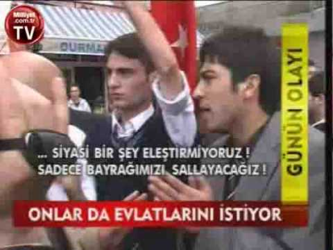 Şehit Aileleri, Gaziler Edirnekapı ŞEHİTLİĞİNE YÜRÜDÜ, Erzurumda POLİS ENGELİ 23.10.09