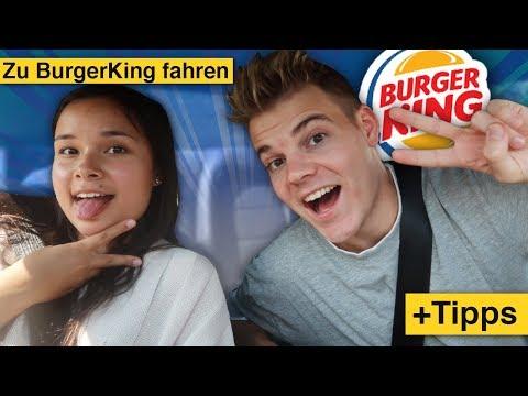 Mit BurgerKing MITARBEITERIN zu BK fahren! 🍔😉 +Tipps zur Bestellung