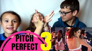 PITCH PERFECT 3 Official Trailer #2 Reaction!!!
