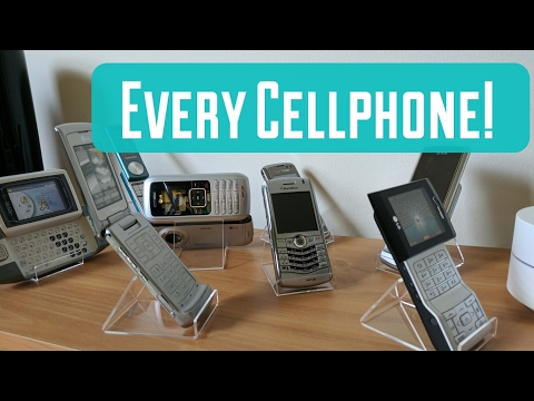 Every Cellphone Form Factor! (cellphone collection 2017)