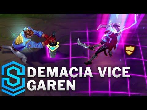Demacia Vice Garen Skin Spotlight - League of Legends