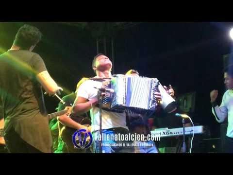 La gordita Rafa Pérez y Omar Geles vía @vallenatoalcien
