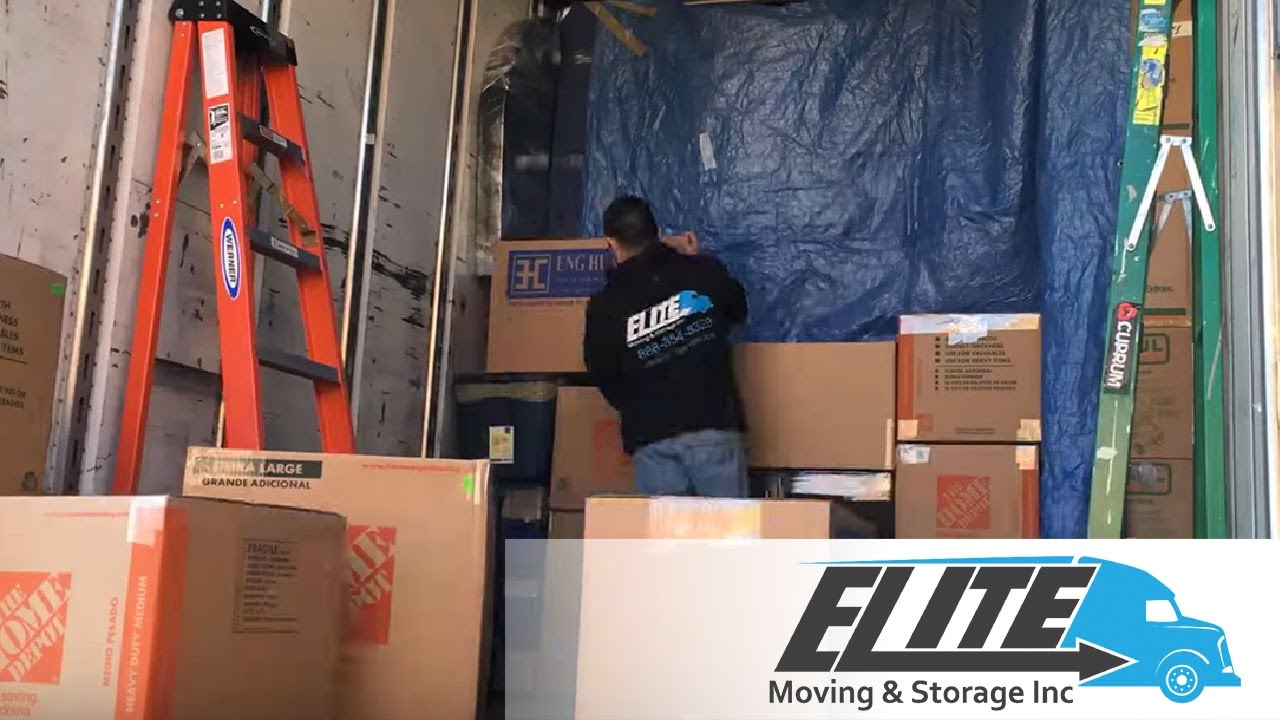 Superbe Elite Moving And Storage   Long Distance Moving Company   Trailer Loading