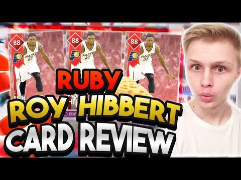 THE BEST CENTER YOU CAN GET!!! RUBY ROY HIBBERT IS THE SHAQ STOPPER!!! NBA 2K18
