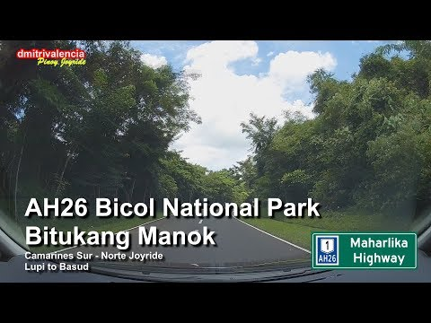 Pinoy Joyride - AH26 Bicol National Park / Lupi to Basud Joyride