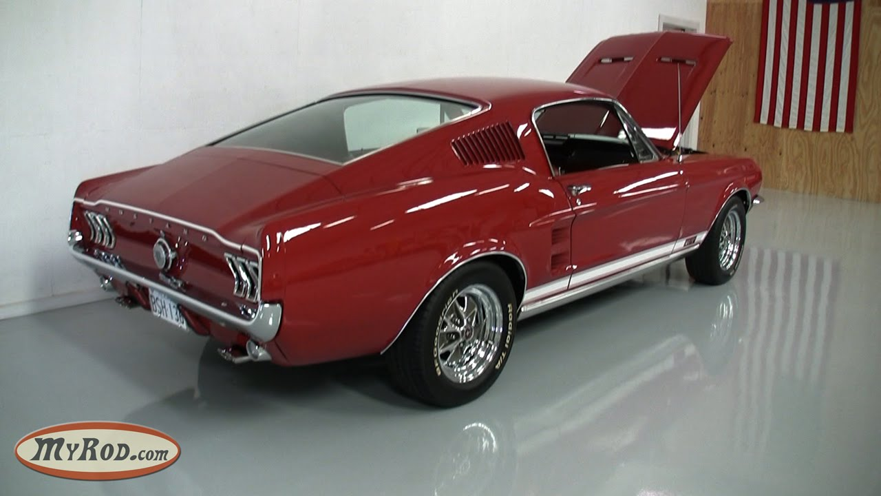 1967 ford mustang gt 390 youtube. Black Bedroom Furniture Sets. Home Design Ideas