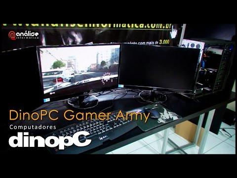 Teste computador DinoPC Gamer Army Core i5 4460 3 2Ghz
