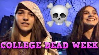 Our First DEAD WEEK! | College Dead Week Vlog #1