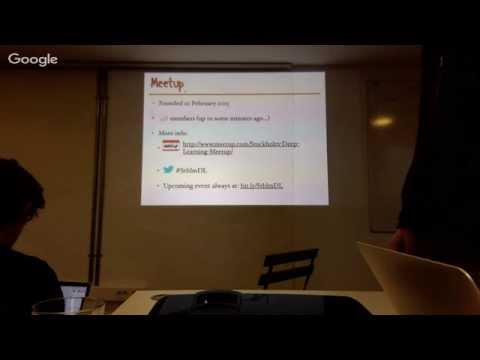 Deep Learning Stockholm #3: Sequential data modeling with RNNs & Creative AI