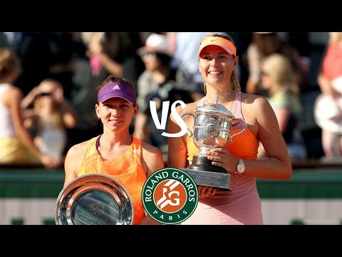 Sharapova vs Halep | 2014 Highlights