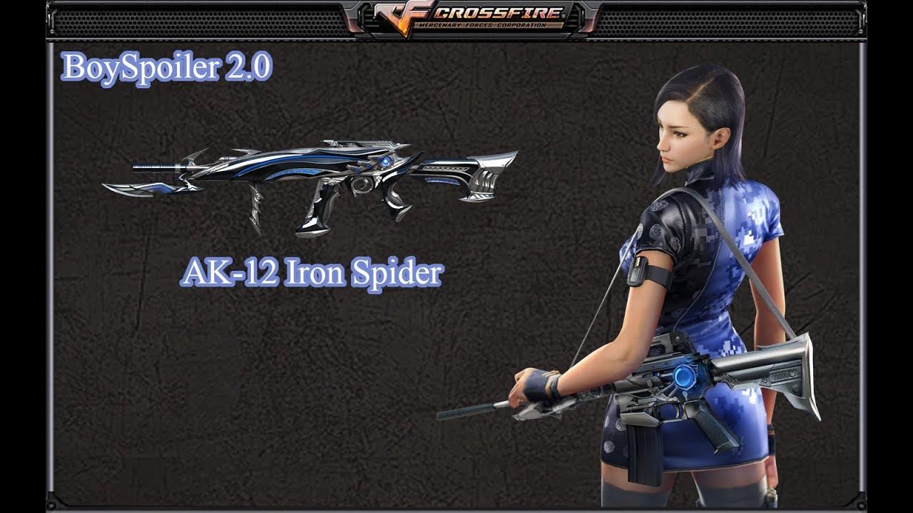 Crossfire Philippines - AK-12 Iron Spider (FFA)