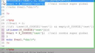 PHP Programming 48 Cookies and Sessions