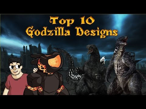 Top 10 Godzilla Designs
