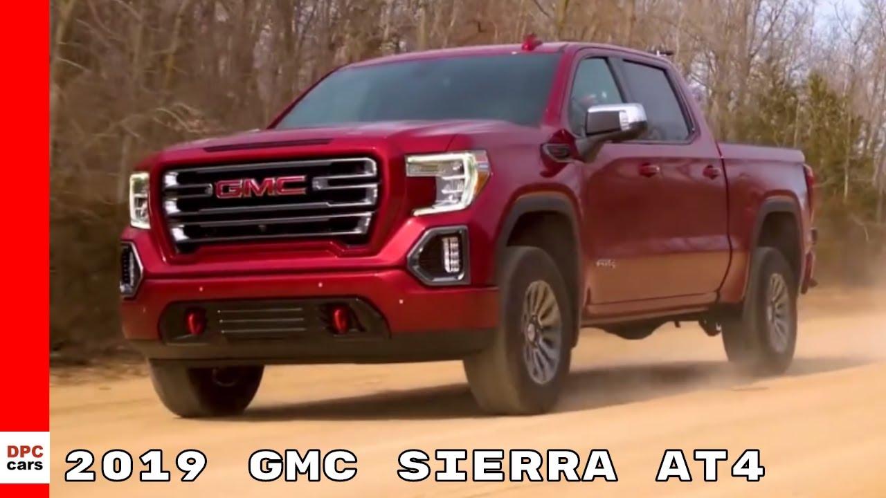 2019 Gmc Sierra At4 Youtube