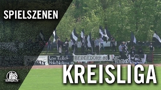 ASV Bergedorf 85 - TSV Gülzow (Kreisliga 3) - Spielszenen | ELBKICK.TV
