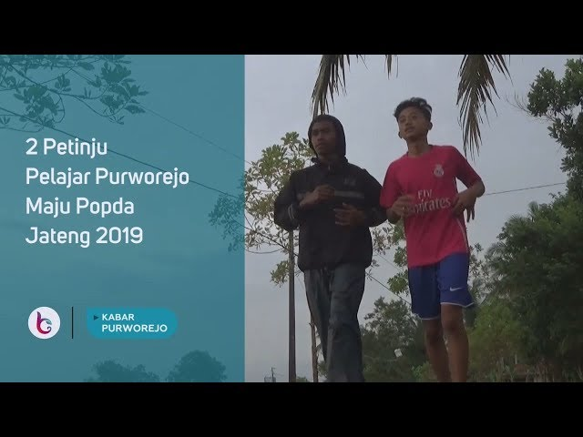 2 Petinju Pelajar Purworejo Maju Popda Jateng 2019