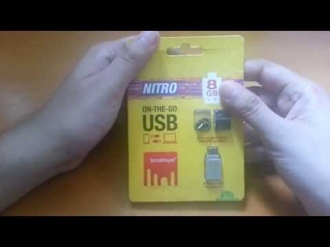 Strontium On-The-Go USB OTG Pen Drive For Smartphones & Tablets - Unboxing & Review