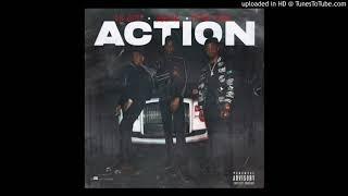 Yung Mal - Action Ft. Pi'erre Bourne & Lil GotIt (Official Audio)