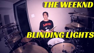 The Weeknd - Blinding Lights | Matt McGuire Drum Cover