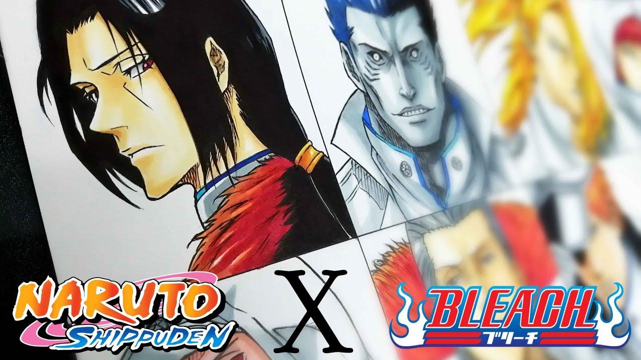 Drawing Akatsuki's as a Quincy | Naruto X Bleach
