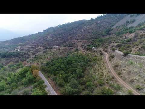 Canal el Carmen, sector los Tazones (cerro San Cristobal)