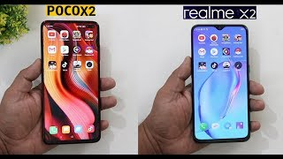 POCO X2 Vs Realme X2 SpeedTest And Camera Comparison