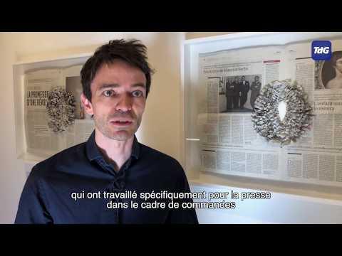 L'exposition «Art et presse, libres échanges» au Château de