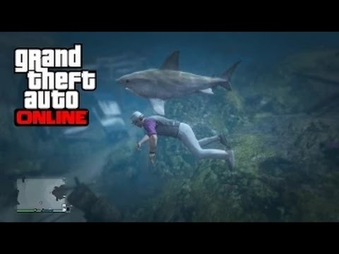 how to find sharks in gta 5 online