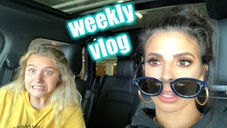 THRIFT STORE SHOPPING | WEEKLY VLOG LAURA LEE